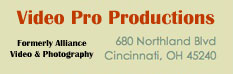Video Pro Productions logo